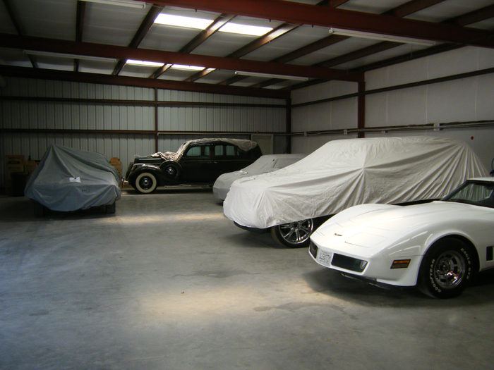 Covered car storage in Fort Worth, Texas