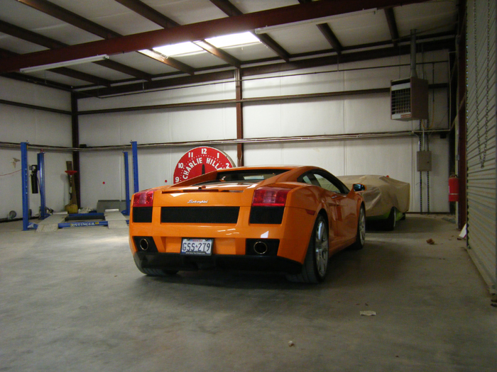 Lamborghini Storage in Fort Worth, Texas