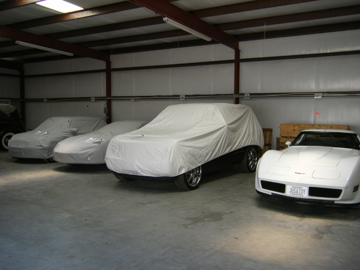 Secure car storage in Fort Worth, Texas